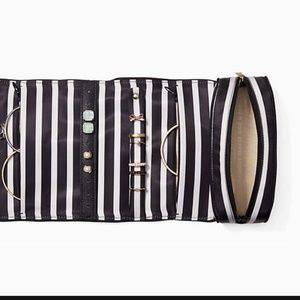 kate spade Bags - Kate Spade Classic Nylon Jewelry Roll Travel Case